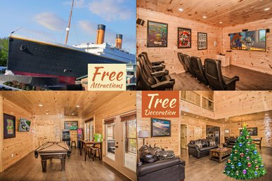 Free Attractions! Spacious, Gameroom, Theater, Hot Tub, 2 Miles To Gatlinburg
