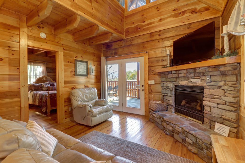 Photo of a Pigeon Forge Cabin named Peaceful Setting Cabin - This is the second photo in the set.