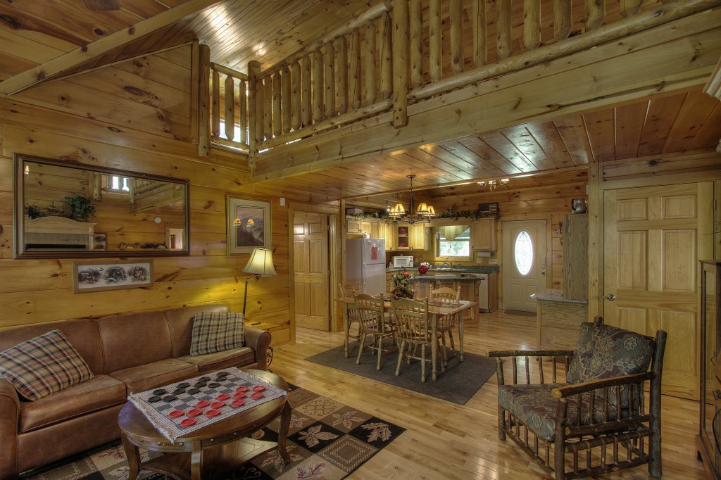 Photo of a Gatlinburg Cabin named Living Waters #376 - This is the twenty-first photo in the set.