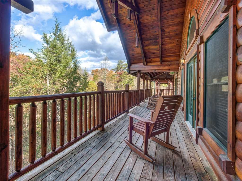 Photo of a Gatlinburg Cabin named Family Ties Lodge - This is the first photo in the set.