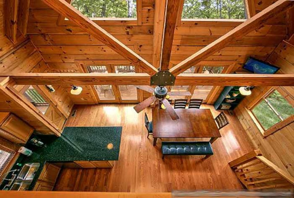 Photo of a Pigeon Forge Cabin named Sunset Mountain View - This is the fifth photo in the set.