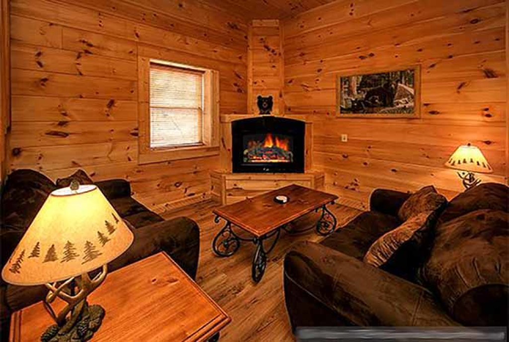 Photo of a Pigeon Forge Cabin named Sunset Mountain View - This is the second photo in the set.