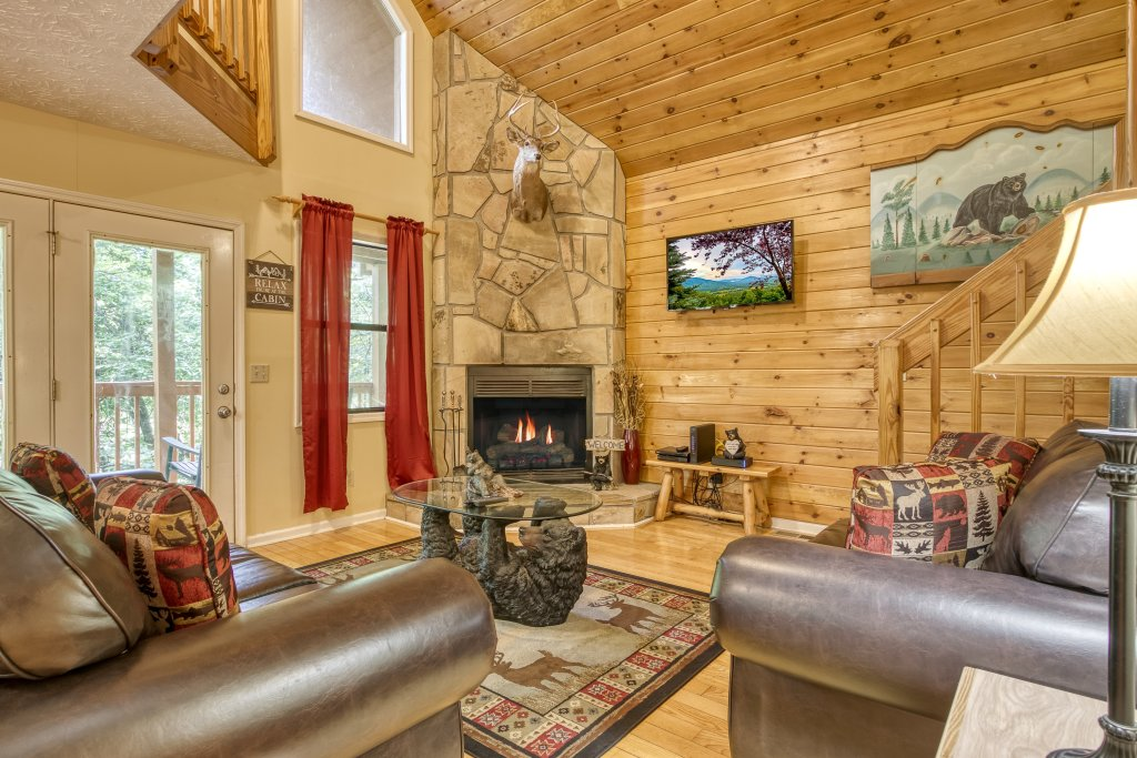 Photo of a Gatlinburg Cabin named Bear Run Getaway #1136 - This is the seventh photo in the set.