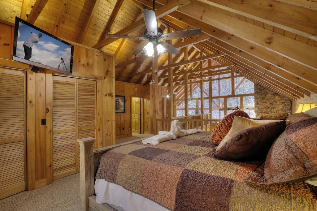 Photo of a Sevierville Cabin named Rocky Stream Lodge - This is the thirty-seventh photo in the set.