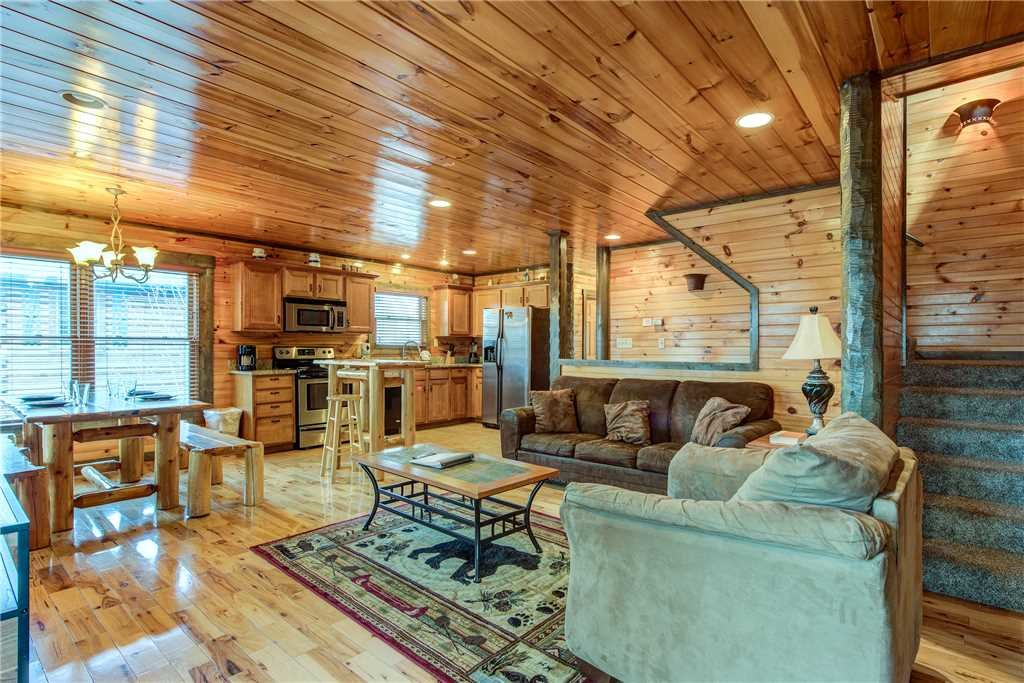 Photo of a Gatlinburg Cabin named Celebration Lodge - This is the third photo in the set.