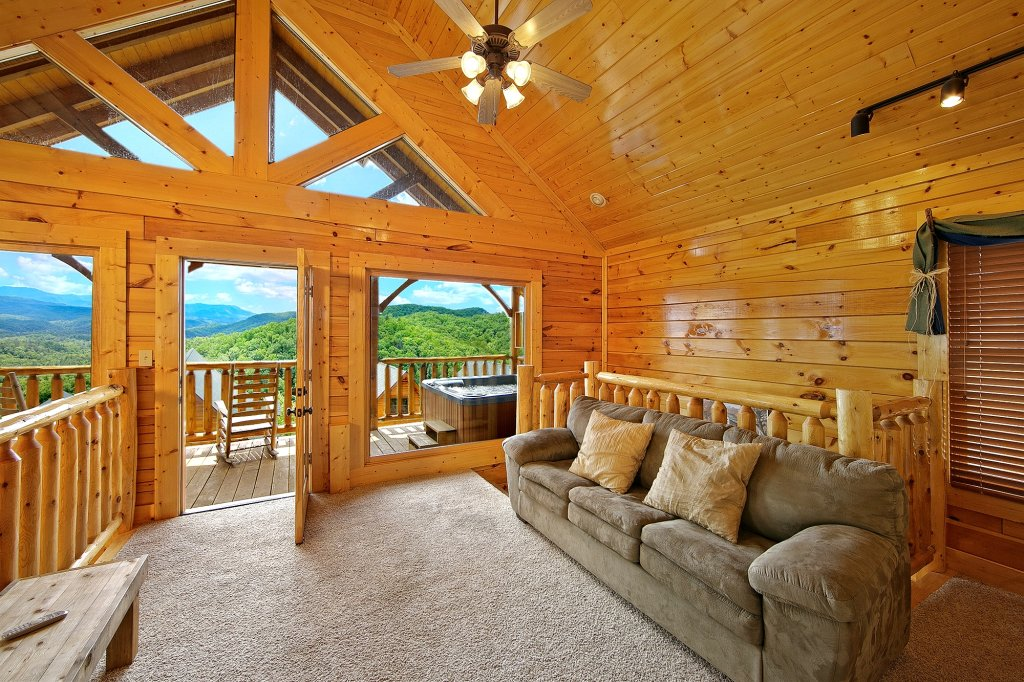 Photo of a Pigeon Forge Cabin named Heavenly Views (#97) - This is the eighth photo in the set.