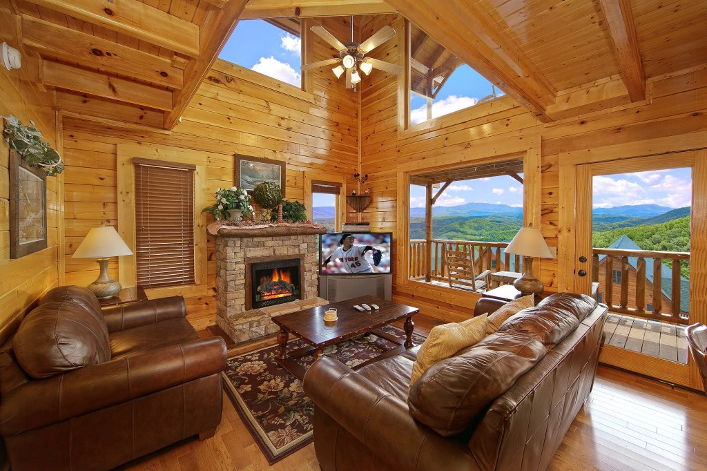 Photo of a Pigeon Forge Cabin named Heavenly Views (#97) - This is the seventh photo in the set.
