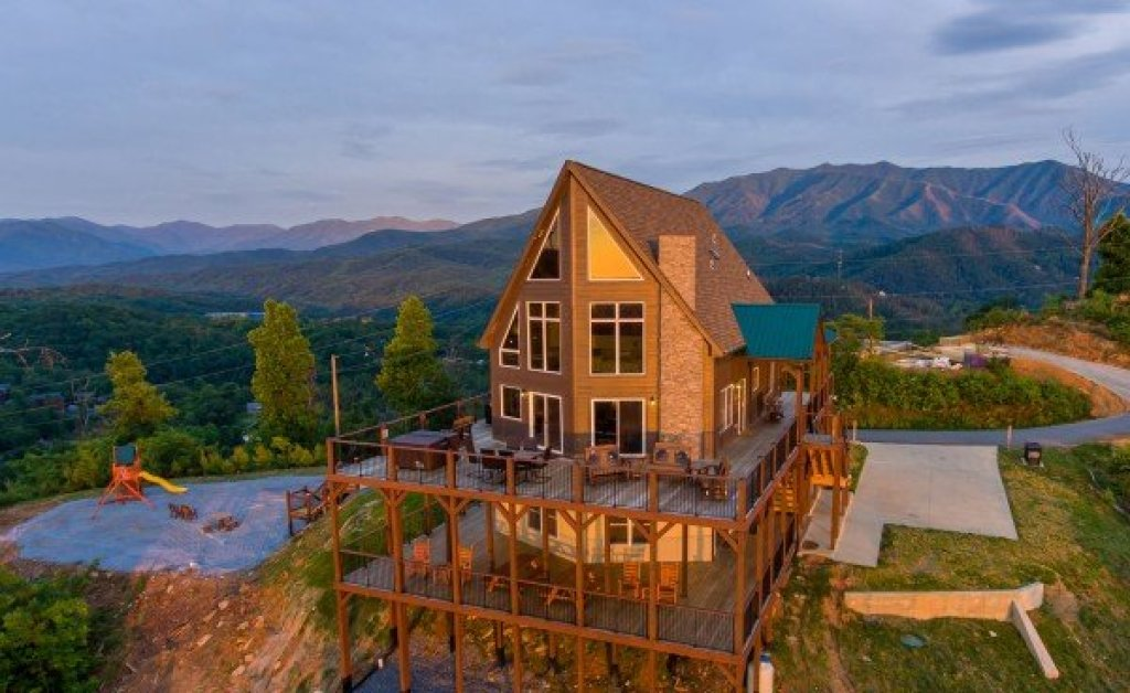 Photo of a Gatlinburg Cabin named The Best View Lodge - This is the first photo in the set.