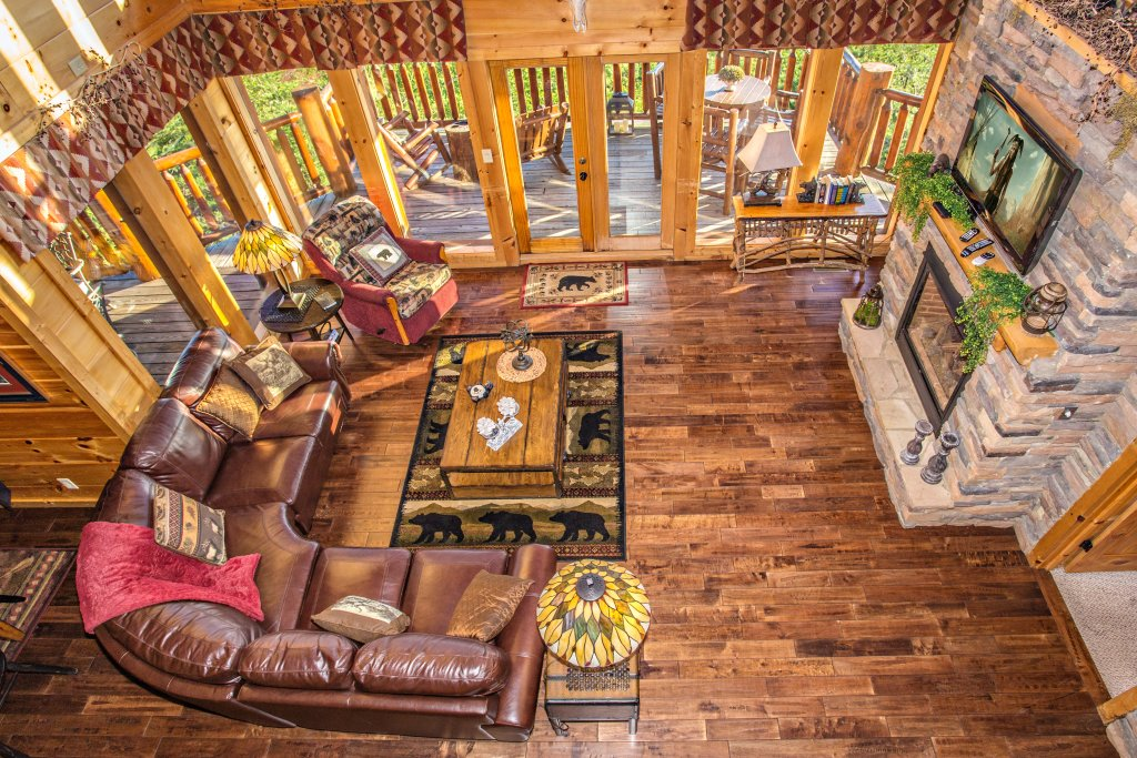 Photo of a Sevierville Cabin named Where Eagles Fly - This is the thirty-first photo in the set.