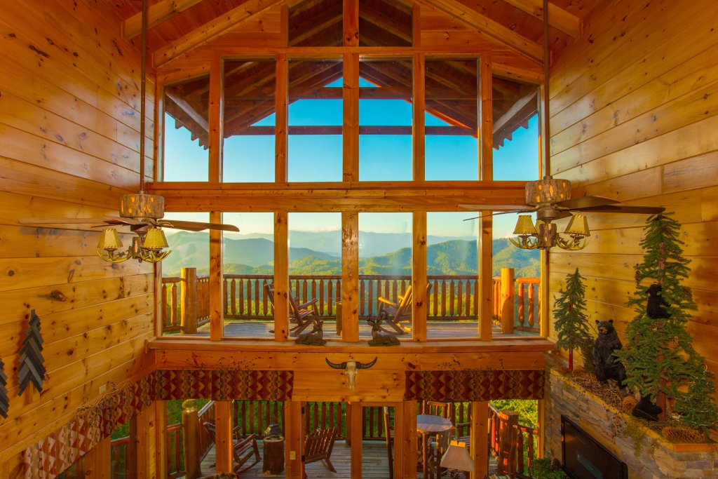 Photo of a Sevierville Cabin named Where Eagles Fly - This is the thirtieth photo in the set.