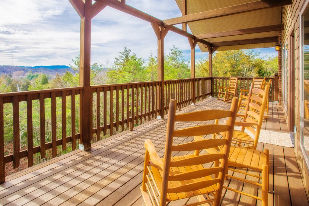 Photo of a Sevierville Cabin named Secluded Sunrise - This is the ninth photo in the set.