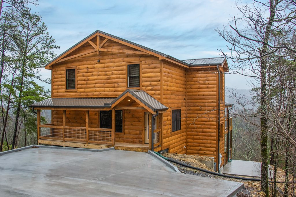 Photo of a Sevierville Cabin named Bearfoot Landing - This is the twenty-ninth photo in the set.
