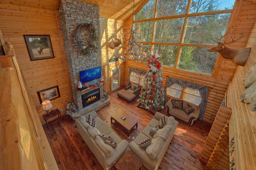 Photo of a Gatlinburg Cabin named Elkhorn Lodge - This is the seventh photo in the set.