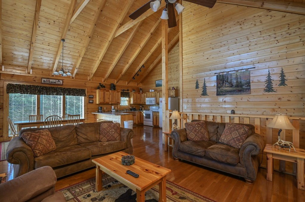 Photo of a Sevierville Cabin named Hillside Retreat - This is the third photo in the set.
