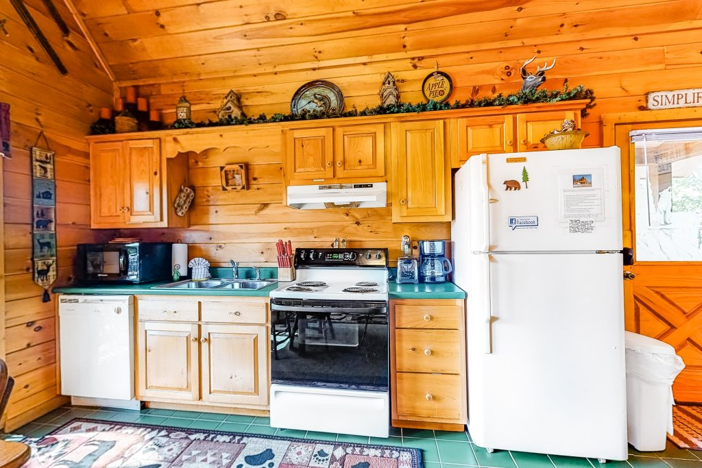 Photo of a Sevierville Cabin named Awesome View Cabin - This is the fifth photo in the set.