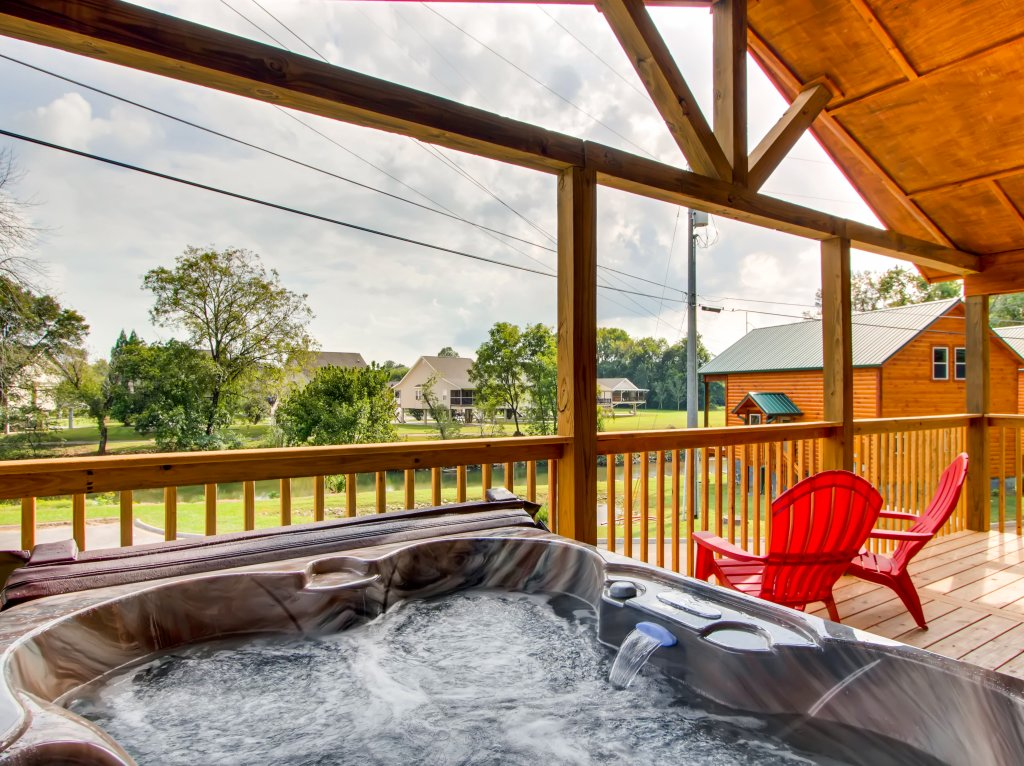 Photo of a Pigeon Forge Cabin named River Romance #2328 - This is the eighth photo in the set.