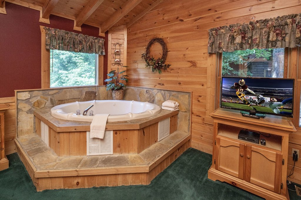Photo of a Pigeon Forge Cabin named  Red Bird Haven - This is the twenty-third photo in the set.