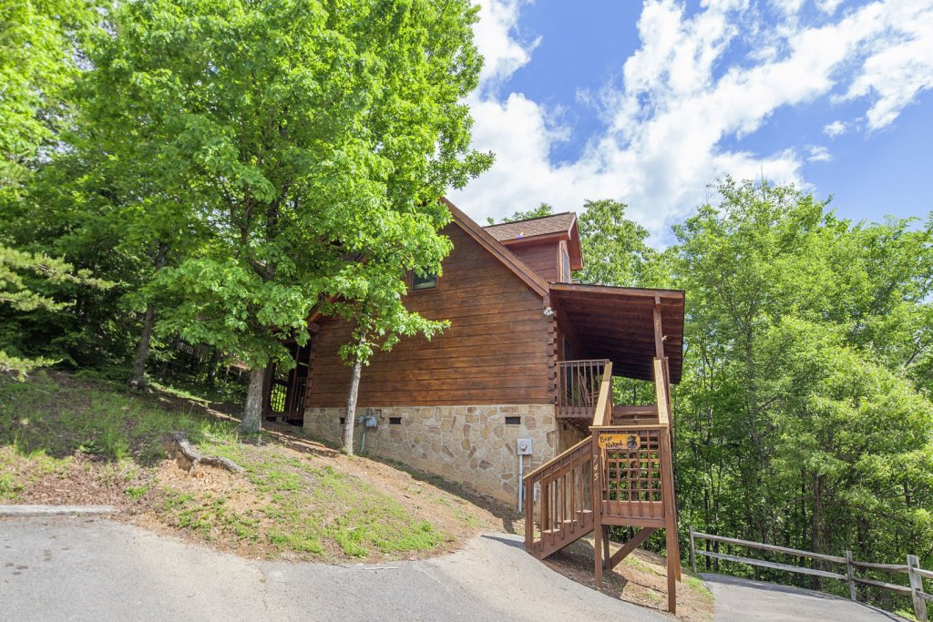 Photo of a Pigeon Forge Cabin named  Bear Naked - This is the seventeenth photo in the set.