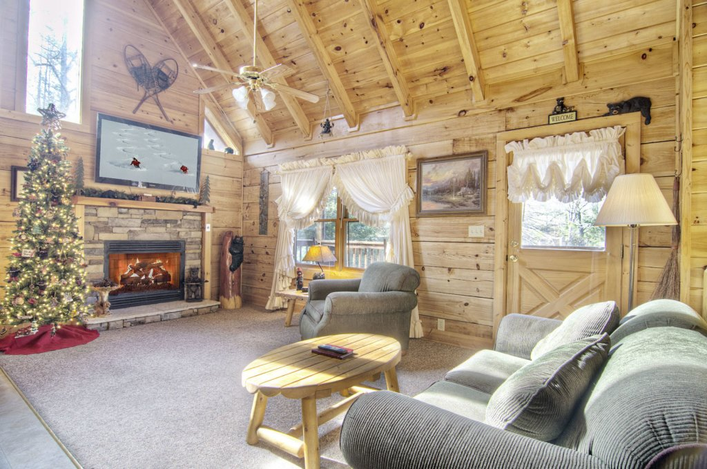 Photo of a Pigeon Forge Cabin named  Bearly Country - This is the second photo in the set.