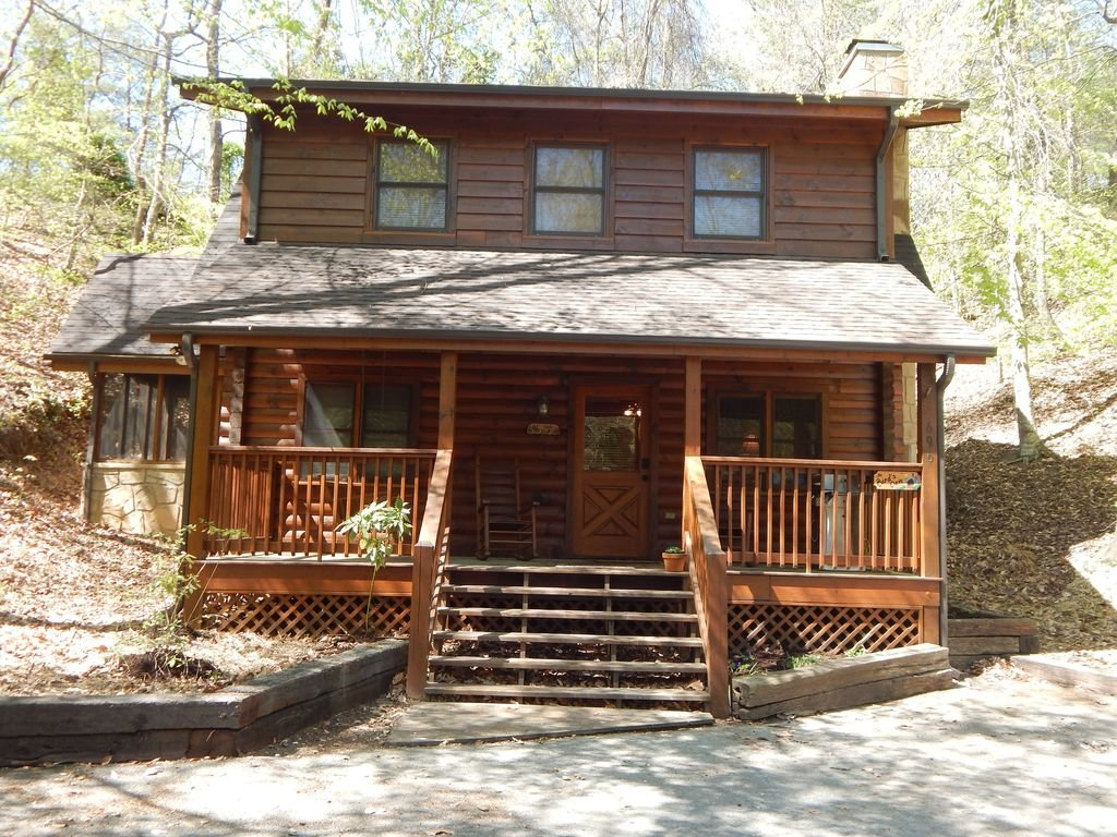 Photo of a Pigeon Forge Cabin named  Squirrel's Retreat - This is the first photo in the set.