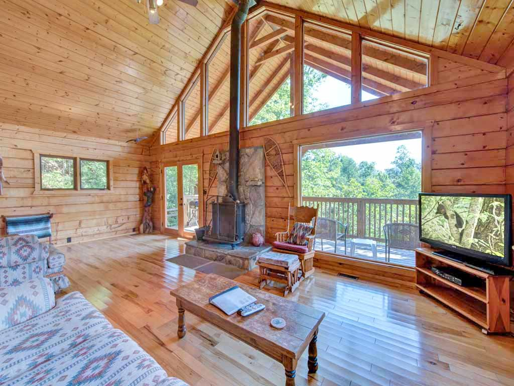Photo of a Gatlinburg Cabin named Seneca - This is the third photo in the set.