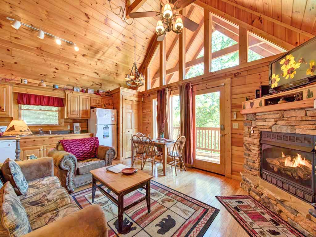 Photo of a Gatlinburg Cabin named Knotty 'n Nice - This is the first photo in the set.