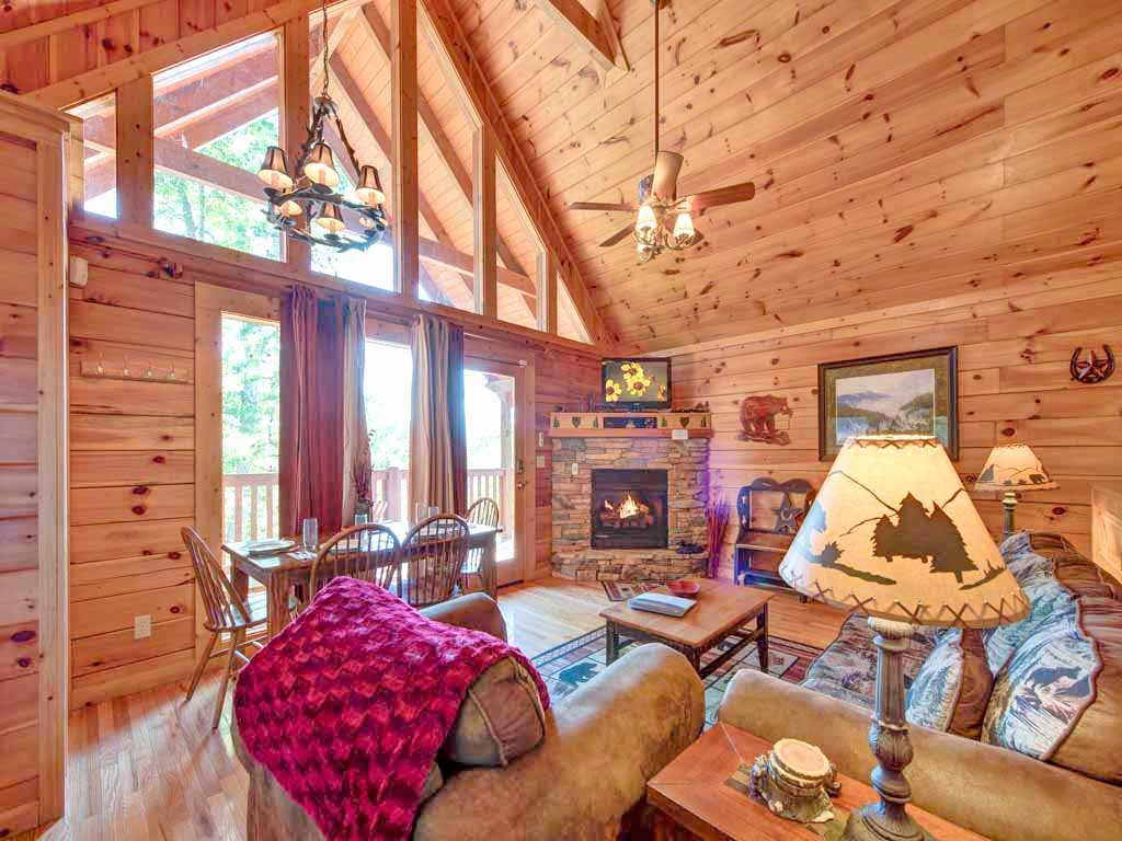 Photo of a Gatlinburg Cabin named Knotty 'n Nice - This is the fourth photo in the set.