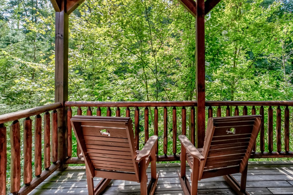 Photo of a Gatlinburg Cabin named Bear's Wilderness Lodge - This is the fifty-sixth photo in the set.
