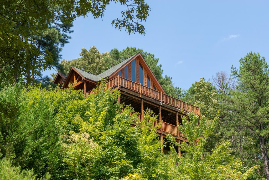 Photo of a Sevierville Cabin named Soaring Vista Cabin - This is the second photo in the set.
