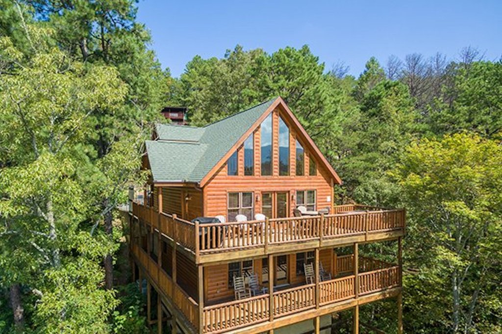 Photo of a Sevierville Cabin named Soaring Vista Cabin - This is the fifty-first photo in the set.