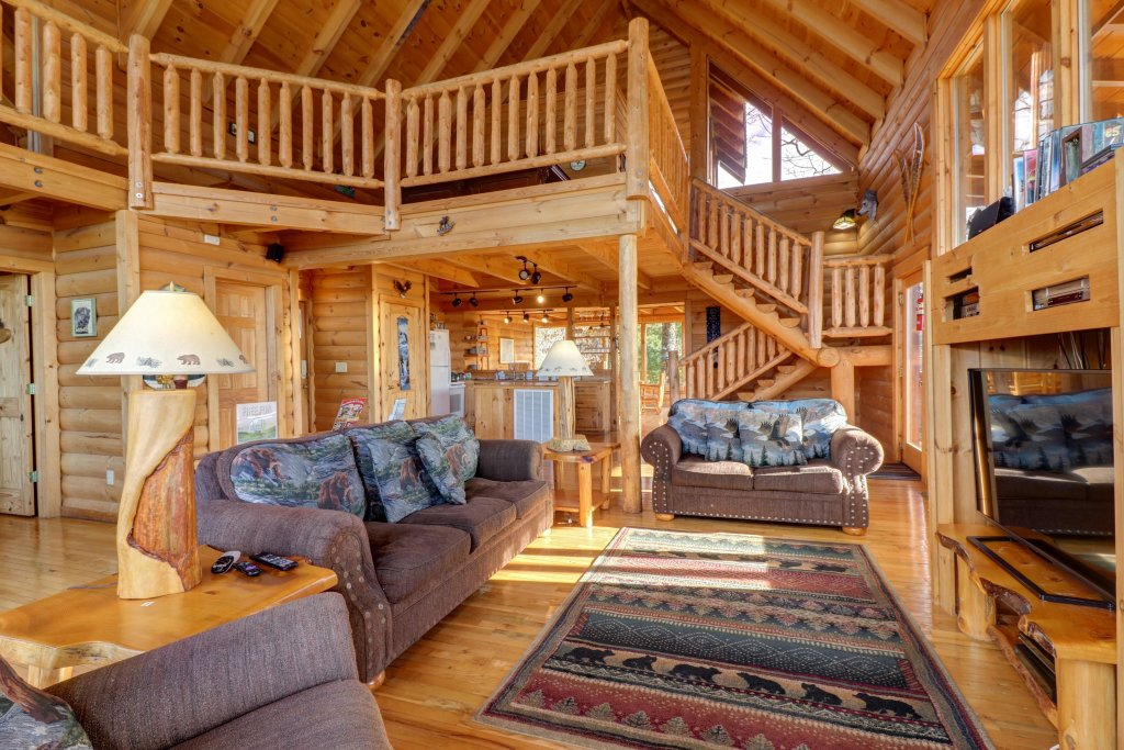 Photo of a Sevierville Cabin named Kodiak #45 - This is the forty-seventh photo in the set.