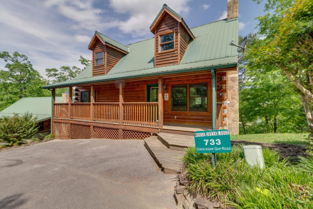 Photo of a Pigeon Forge Cabin named Moose Creek Lodge - This is the forty-fifth photo in the set.
