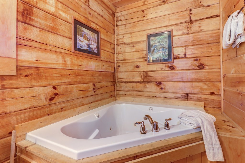 Photo of a Sevierville Cabin named Majestic View #42a - This is the fourteenth photo in the set.