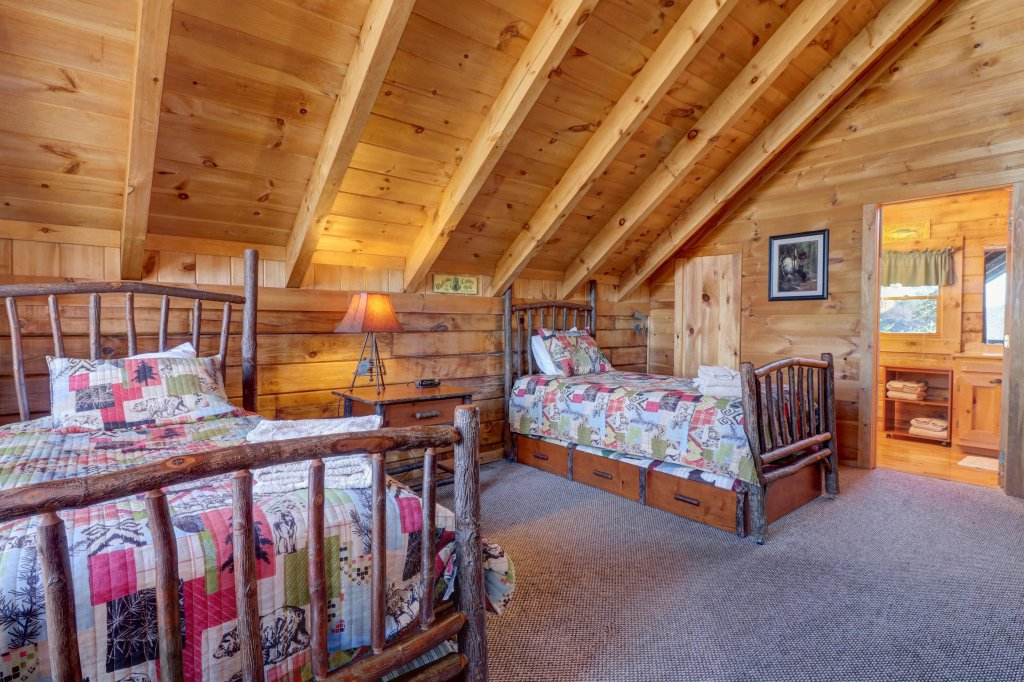 Photo of a Sevierville Cabin named Majestic View #42a - This is the fortieth photo in the set.