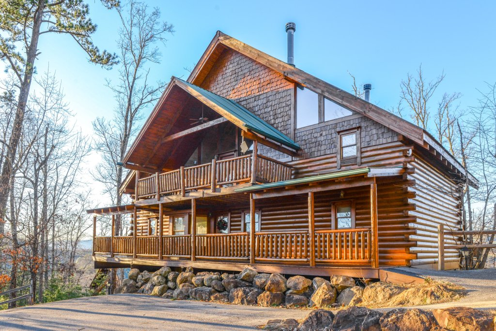 Photo of a Sevierville Cabin named Majestic View #42a - This is the twenty-sixth photo in the set.