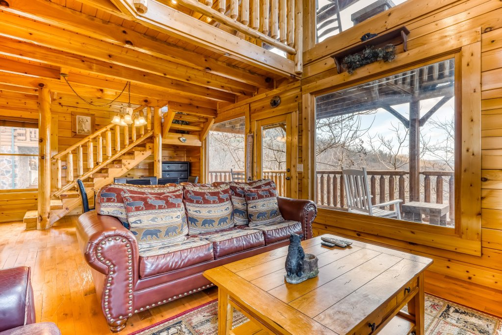 Photo of a Sevierville Cabin named Nature's Paradise - This is the eleventh photo in the set.