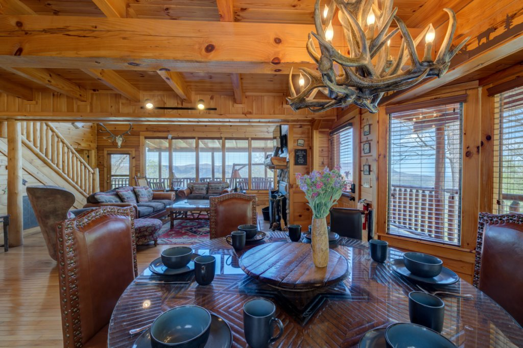 Photo of a Sevierville Cabin named Highland Lodge #61 - This is the third photo in the set.