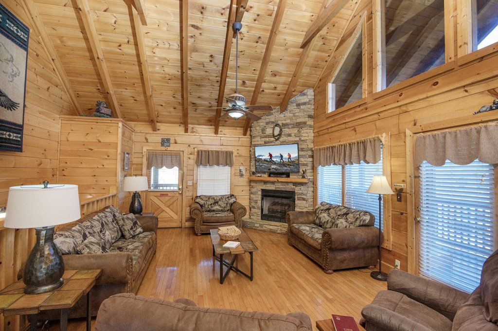 Photo of a Sevierville Cabin named  A Dream Come True - This is the fifth photo in the set.