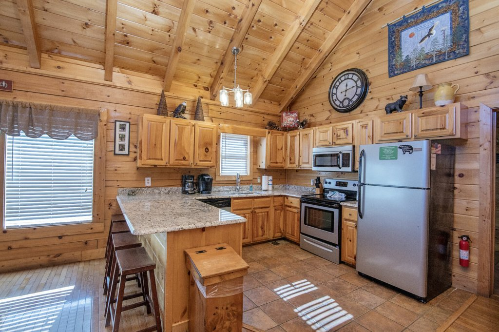 Photo of a Sevierville Cabin named  A Dream Come True - This is the sixteenth photo in the set.