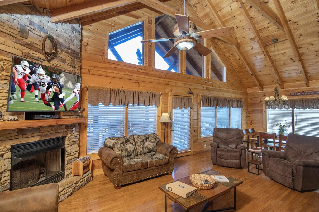Photo of a Sevierville Cabin named  A Dream Come True - This is the third photo in the set.