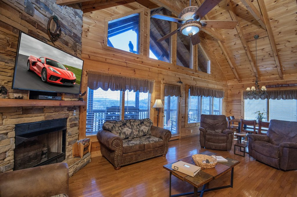 Photo of a Sevierville Cabin named  A Dream Come True - This is the fourth photo in the set.