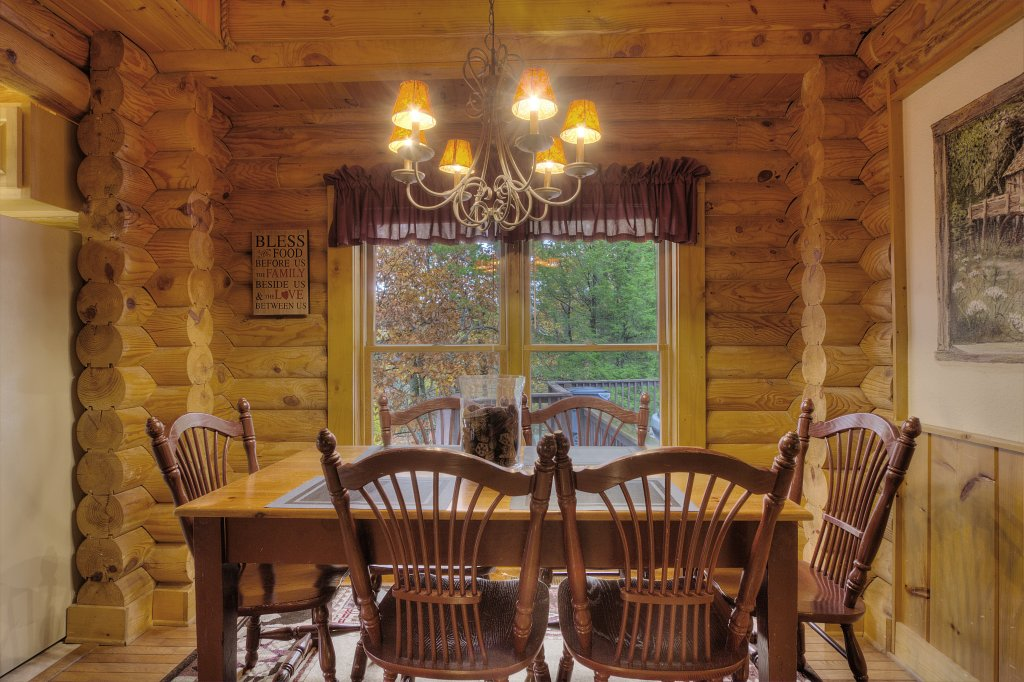 Photo of a Pigeon Forge Cabin named Lucky Logs #283 - This is the fourth photo in the set.