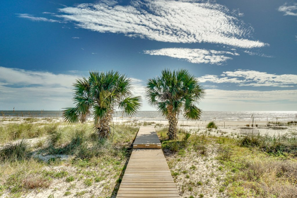 Photo of a Cape San Blas House named Vista Blue - This is the first photo in the set.