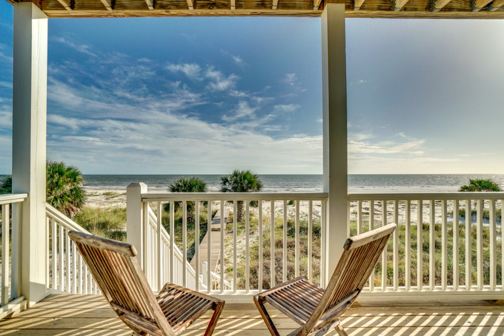 Photo of a Cape San Blas House named Vista Blue - This is the second photo in the set.