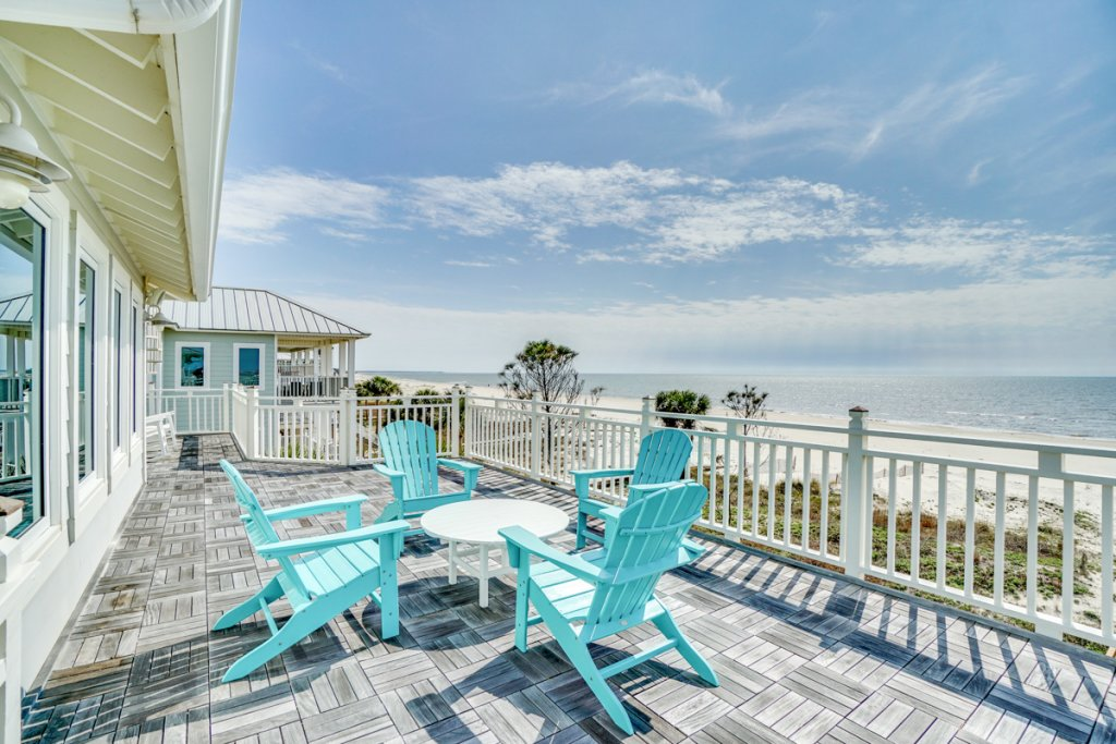 Photo of a Cape San Blas House named Indian Sunsets - This is the fortieth photo in the set.