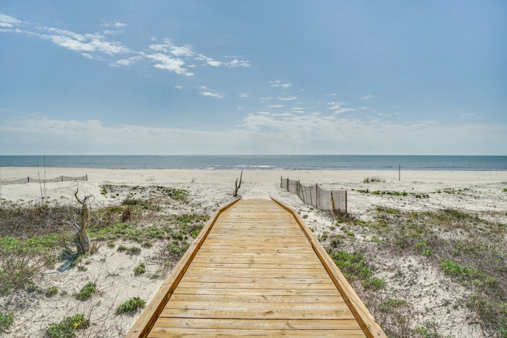 Photo of a Cape San Blas House named Indian Sunsets - This is the forty-seventh photo in the set.