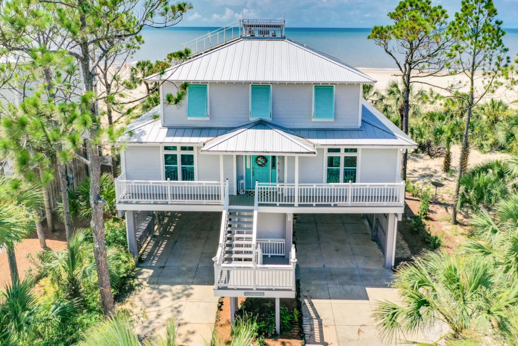 Photo of a Cape San Blas House named Indian Sunsets - This is the fiftieth photo in the set.