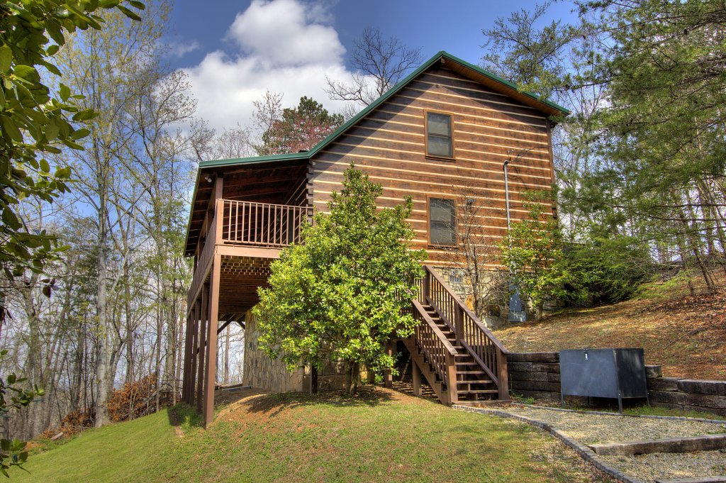 Photo of a Gatlinburg Cabin named Almost Heaven #205 - This is the fifty-sixth photo in the set.
