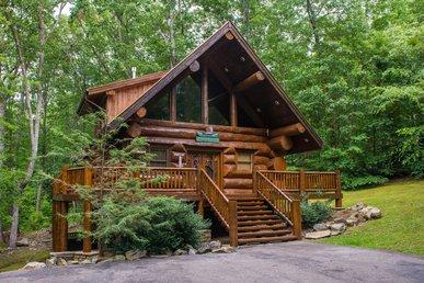 Chief Big Log Cabin