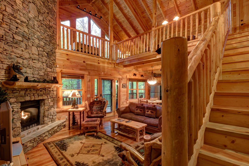 Photo of a Sevierville Cabin named Serenity Cabin - This is the first photo in the set.